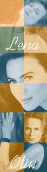 My site celebrating the fabulously talented actress Lena Olin.